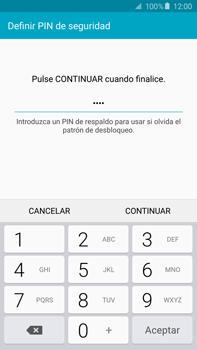Desbloqueo del equipo por medio del patrón - Samsung Galaxy Note 5 - N920 - Passo 12