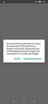 Configuración de Whatsapp - Huawei P30 Pro - Passo 10