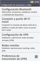 Configura el hotspot móvil - Motorola MotoSmart Me  XT303 - Passo 6