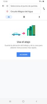 Uso de la navegación GPS - Samsung Galaxy A80 - Passo 11