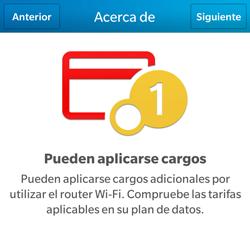 Configura el hotspot móvil - BlackBerry Q5 - Passo 7