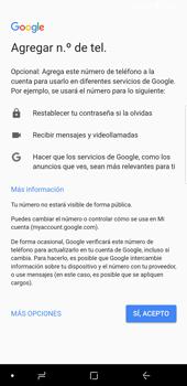 Crea una cuenta - Samsung Galaxy S9 Plus - Passo 13