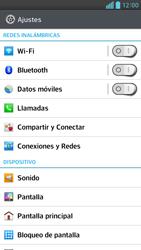 Activa o desactiva el uso del código de seguridad - LG Optimus G Pro Lite - Passo 3
