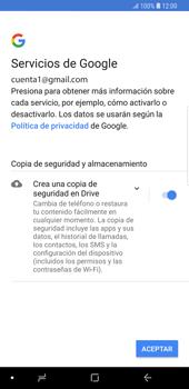 Configura tu correo electrónico - Samsung Galaxy Note 9 - Passo 15