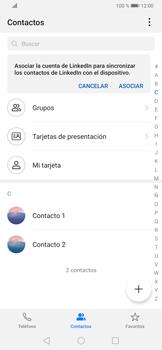 ¿Tu equipo puede copiar contactos a la SIM card? - Huawei P30 - Passo 5