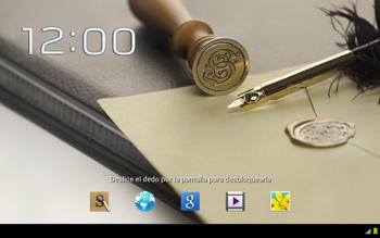 Bloqueo de la pantalla - Samsung Galaxy Note 10-1 - N8000 - Passo 4