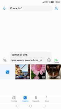Envía fotos, videos y audio por mensaje de texto - Huawei Mate 9 - Passo 13