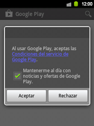 Crea una cuenta - Samsung Galaxy Y  GT - S5360 - Passo 21