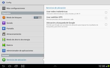 Uso de la navegación GPS - Samsung Galaxy Note 10-1 - N8000 - Passo 6