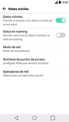 Configura el Internet - LG G5 - Passo 5