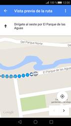 Uso de la navegación GPS - Huawei P8 - Passo 24