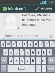 Configuración de Whatsapp - LG Optimus L3 II - Passo 8