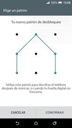 Desbloqueo del equipo por medio del patrón - HTC One A9 - Passo 10