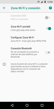 Configura el hotspot móvil - Motorola Moto G6 Play - Passo 10