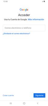 Crea una cuenta - Samsung Galaxy A80 - Passo 4