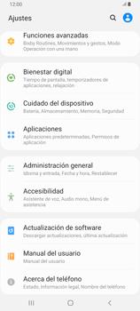 Limpieza de aplicación - Samsung Galaxy A80 - Passo 3