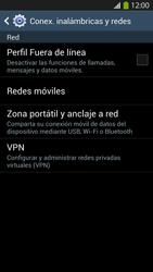Configura el hotspot móvil - Samsung Galaxy S4  GT - I9500 - Passo 5