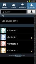 ¿Tu equipo puede copiar contactos a la SIM card? - Samsung Galaxy S4  GT - I9500 - Passo 10