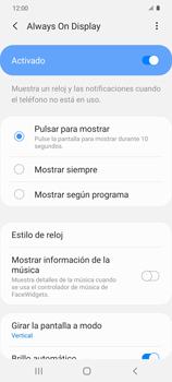 Cómo activar Always on Display - Samsung Galaxy S20 - Passo 7