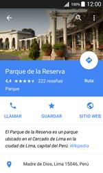 Uso de la navegación GPS - Samsung Galaxy Core Prime - G360 - Passo 10