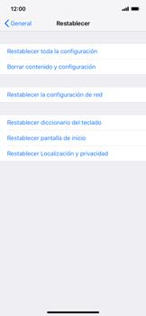 Restaura la configuración de fábrica - Apple iPhone XS Max - Passo 5