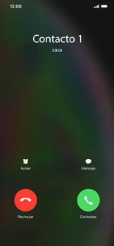 Contesta, rechaza o silencia una llamada - Apple iPhone XS Max - Passo 3