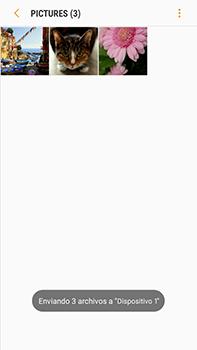 Transferir fotos vía Bluetooth - Samsung Galaxy J7 Prime - Passo 12