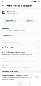 Verificar el uso de datos por apps - Huawei P20 Pro - Passo 5