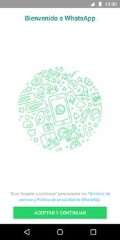 Configuración de Whatsapp - Motorola Moto G6 Plus - Passo 4