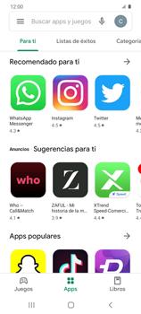 Instala las aplicaciones - Samsung Galaxy S20 - Passo 8
