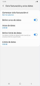 Desactivación límite de datos móviles - Samsung Galaxy A10 - Passo 7