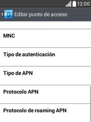 Configura el Internet - LG L20 - Passo 13