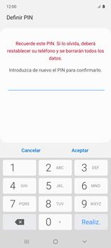 Habilitar seguridad de huella digital - Samsung Galaxy A51 - Passo 10