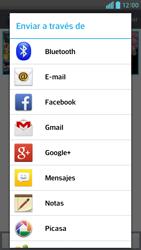 Transferir fotos vía Bluetooth - LG Optimus G Pro Lite - Passo 8