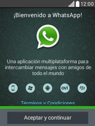 Configuración de Whatsapp - LG L20 - Passo 4