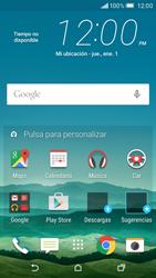 Cómo insertar la SIM card - HTC One M9 - Passo 1