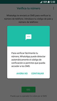 Configuración de Whatsapp - Samsung Galaxy J7 Prime - Passo 10
