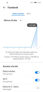 Verificar el uso de datos por apps - Huawei P40 Lite - Passo 6