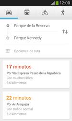 Uso de la navegación GPS - Samsung Galaxy Trend Plus S7580 - Passo 14