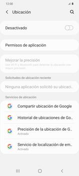 Cómo habilitar el GPS en tu teléfono - Samsung Galaxy S20 - Passo 4
