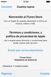 Crea una cuenta - Apple iPhone 4s - Passo 9
