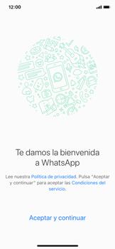 Configuración de Whatsapp - Apple iPhone XS - Passo 4