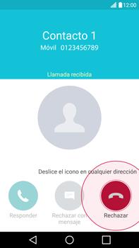 Contesta, rechaza o silencia una llamada - LG V10 - Passo 4
