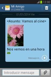 Envía fotos, videos y audio por mensaje de texto - Samsung Galaxy Fame Lite - S6790 - Passo 19