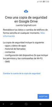 Realiza una copia de seguridad con tu cuenta - Samsung Galaxy Note 9 - Passo 10