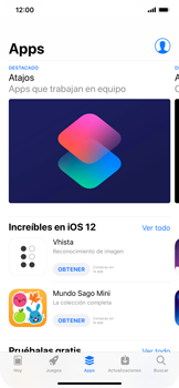 Instala las aplicaciones - Apple iPhone XS Max - Passo 6