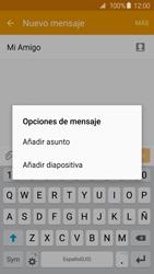 Envía fotos, videos y audio por mensaje de texto - Samsung Galaxy S6 Edge - G925 - Passo 12