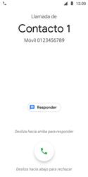 Contesta, rechaza o silencia una llamada - Motorola Moto E5 Play - Passo 2