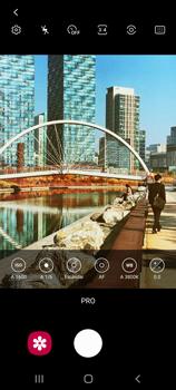 Modo profesional - Samsung Galaxy S20 - Passo 9