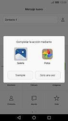 Envía fotos, videos y audio por mensaje de texto - Huawei Cam Y6 II - Passo 14